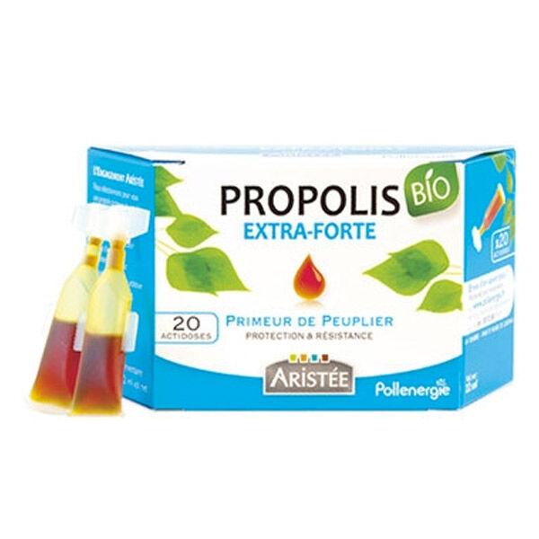 Aristée Propolis Peuplier Bio Extra Forte Actidoses 20 unités