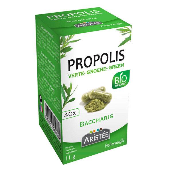Aristée Propolis Bio Verte de Baccharis 40 gélules