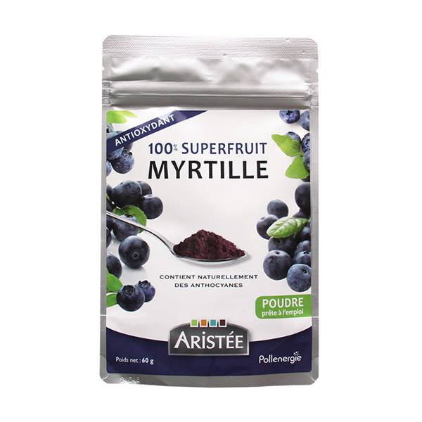Aristée Superfruits Myrtille 60g