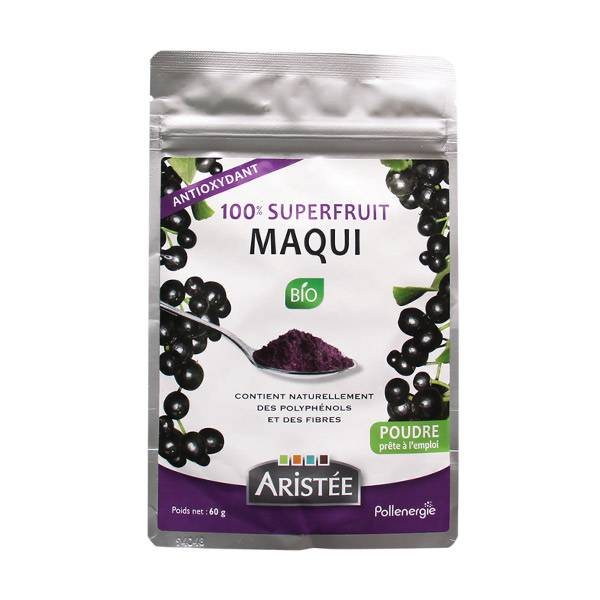 Aristée Superfruits Maqui Bio 60g