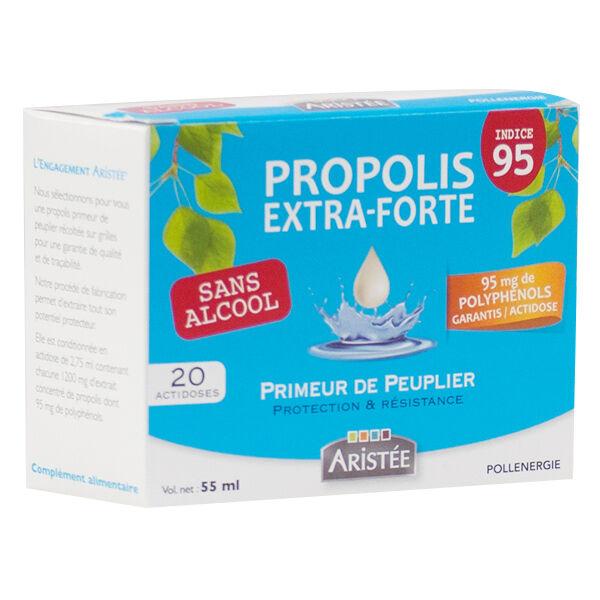 Aristée Propolis Extra Forte Actidoses Sans Alcool 20 unités