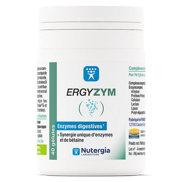 Nutergia Ergyzym 40 gélules