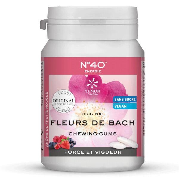 Lemon Pharma Fleurs de Bach Chewing Gums Energie n°40 60g