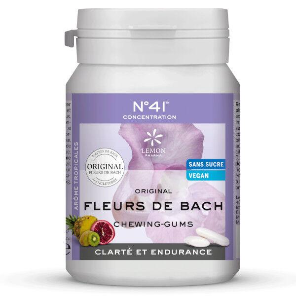 Lemon Pharma Fleurs de Bach Chewing Gums Concentration n°41