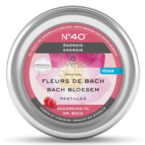 Lemon Pharma Fleurs de Bach Pastilles Energie n°40