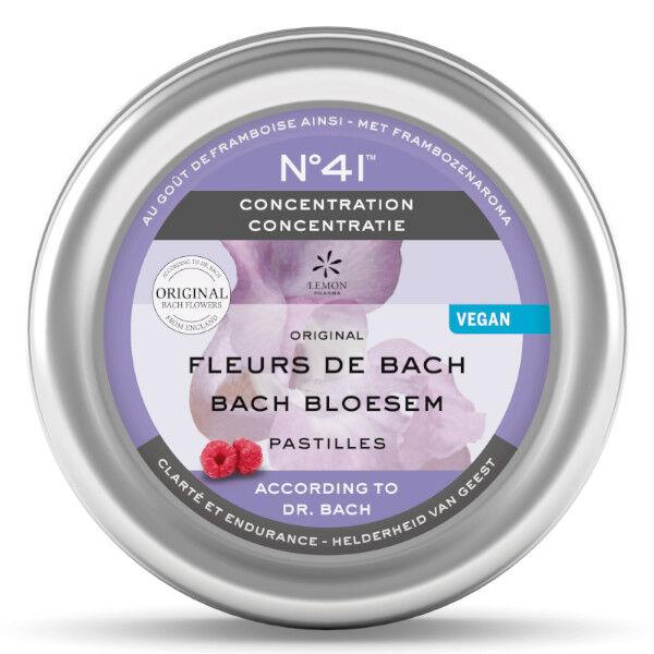 Lemon Pharma Fleurs de Bach Pastilles Concentration n°41