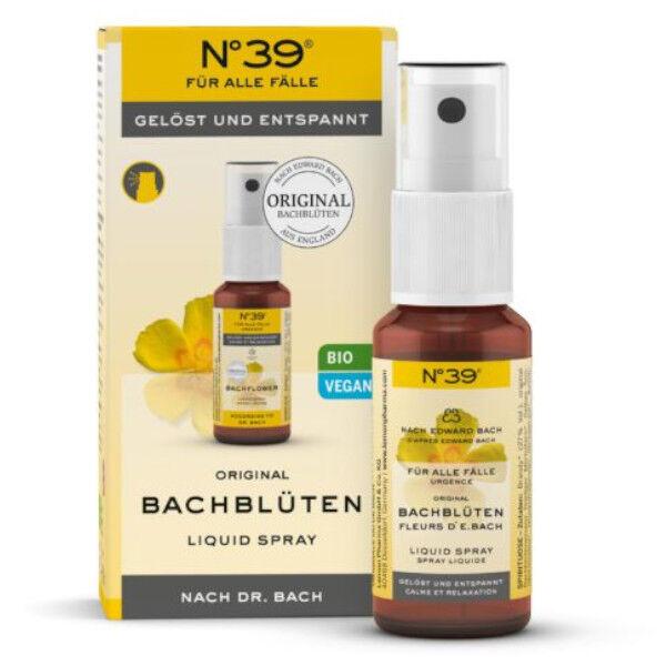 Lemon Pharma Fleurs de Bach Spray Liquide Urgence n°39 20ml