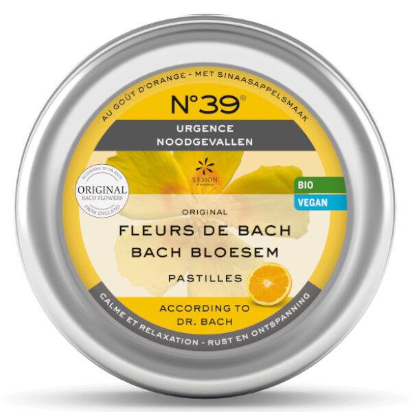 Lemon Pharma Fleurs de Bach Pastilles Urgence n°39