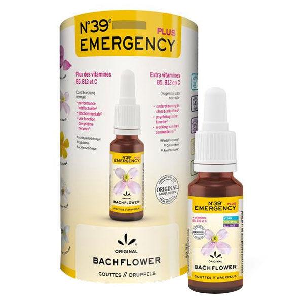 Lemon Pharma Fleurs de Bach N°39 Emergency Plus 20ml