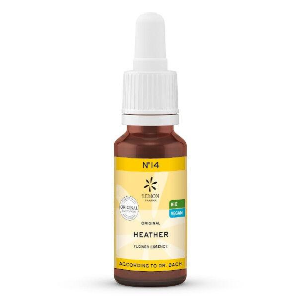 Lemon Pharma Fleurs de Bach Heather N°14 Bio 20ml