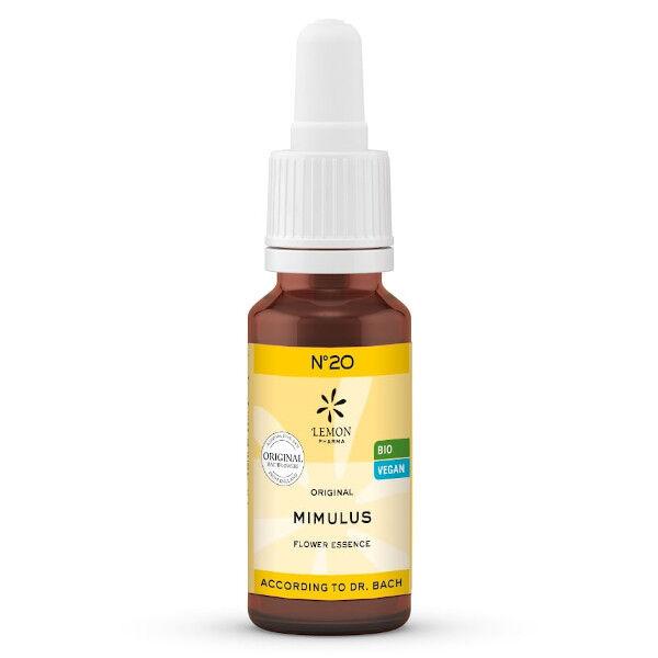 Lemon Pharma Fleurs de Bach Mimulus N°20 Bio 20ml