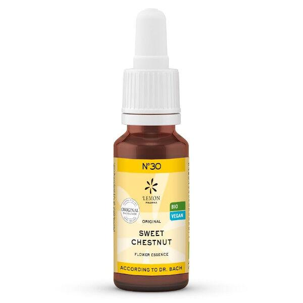 Lemon Pharma Fleurs de Bach N°30 Sweet Chestnut Bio 20ml