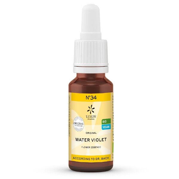 Lemon Pharma Fleurs de Bach Water Violet N°34 Bio 20ml