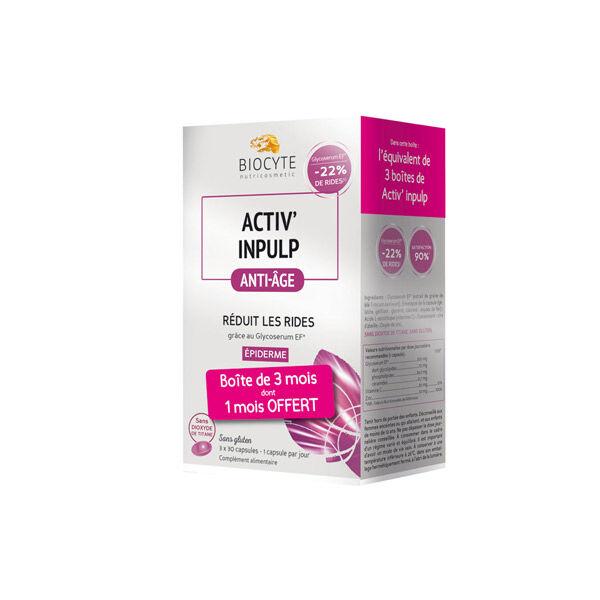 Biocyte Activ Inpulp Anti-Âge Pack 90 capsules