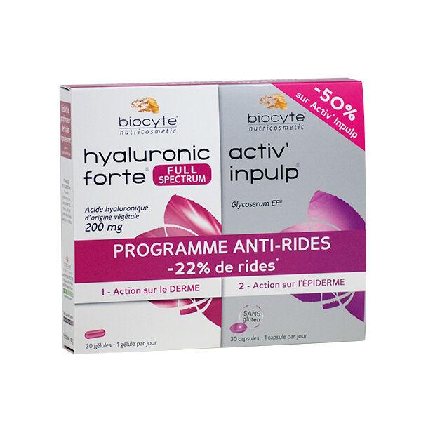 Biocyte DuoPack Anti-rides 30 capsules + 30 gélules