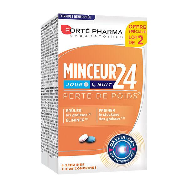 Forté Pharma Minceur 24 Jour et Nuit Lot de 2 x 28 comprimés