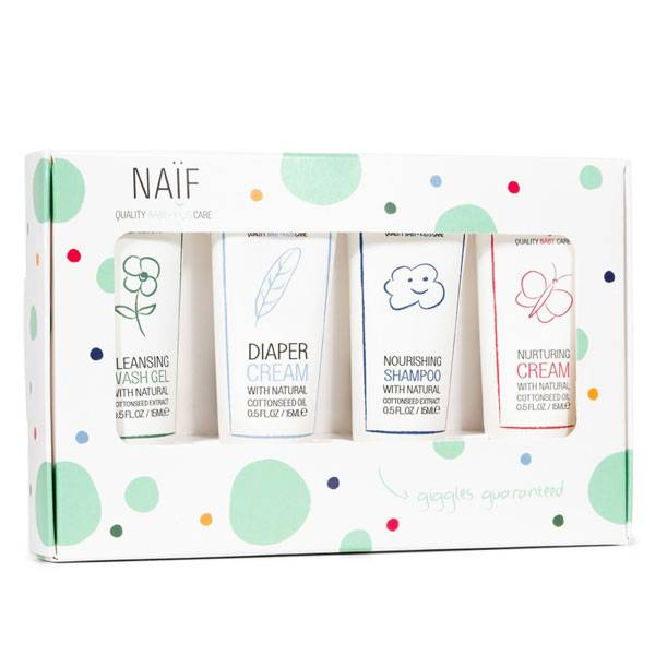 Naïf Baby & Kids Giggles guaranteed Pack Mini 4 x 15ml