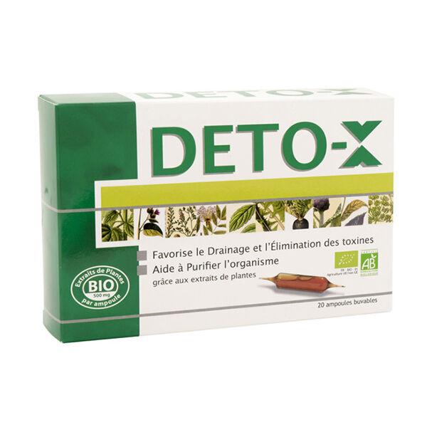 NutriExpert Deto-X Bio 20 ampoules