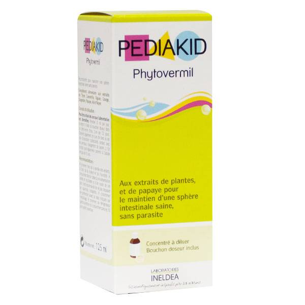 Pediakid Phytovermil Arôme Fruits Rouges 125ml