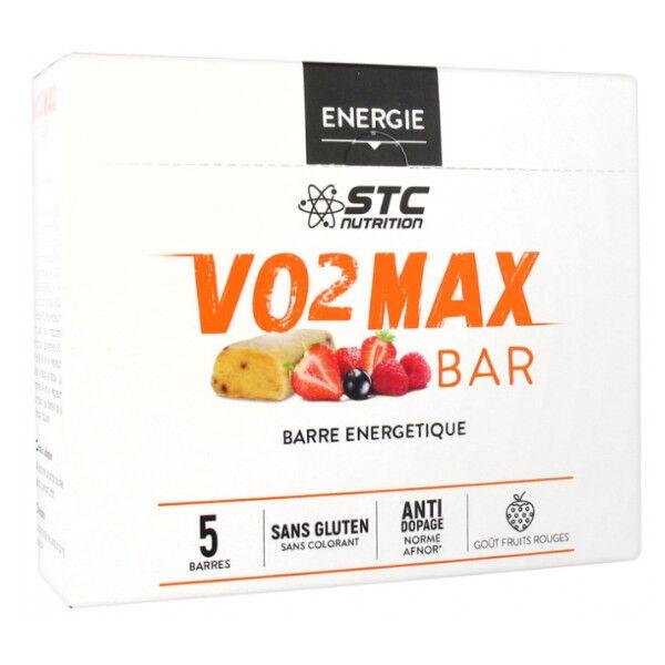 STC Nutrition STC VO2 Max Bar Saveur Fruits Rouges 5 Unités
