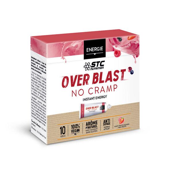 STC Nutrition Over Blast No Cramp Goût Fruits Rouges 10 gels