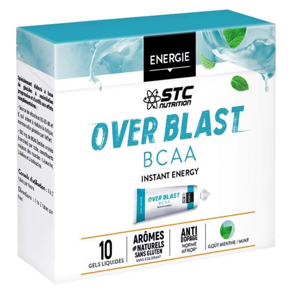STC Nutrition Over Blast BCAA Goût Menthe Fraîche 10 gels