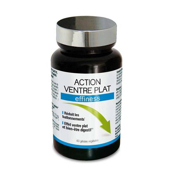 NutriExpert Effiness Action Ventre Plat 60 gélules