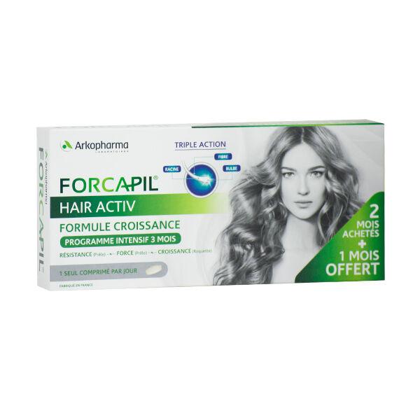 Arkopharma Forcapil Hair Activ Programme Intensif 3 x 30 comprimés
