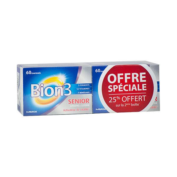 Bion 3 Séniors Lot de 2 x 60 comprimés
