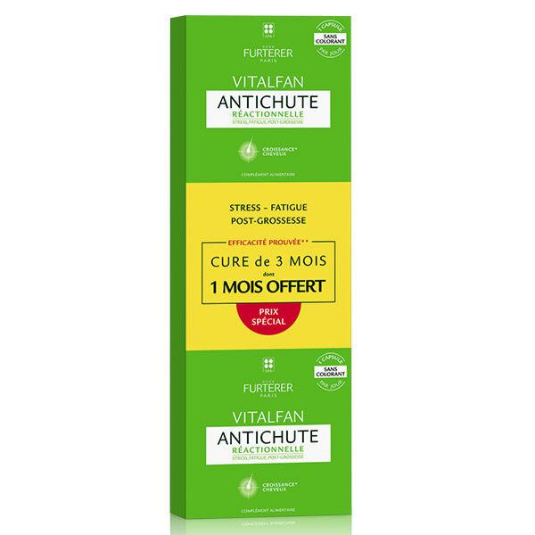 René Furterer Vitalfan Anti-Chute Réactionnelle Lot de 3 x 30 capsules