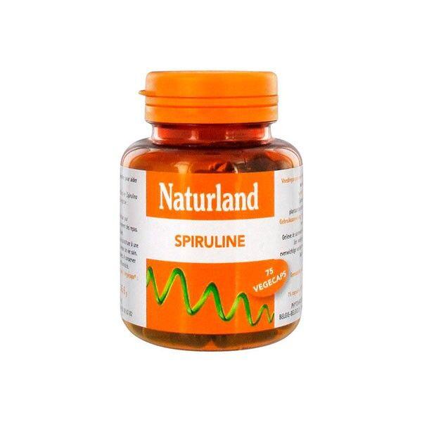 Naturland Spiruline 75 végécaps
