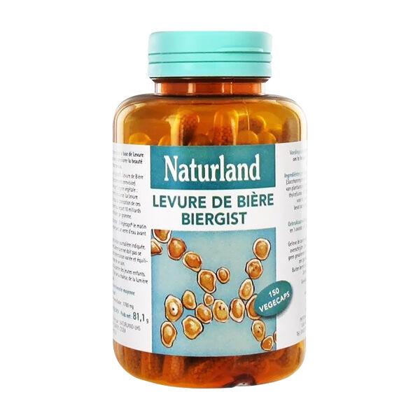 Naturland Levure de Bière Vivante 150 végécaps