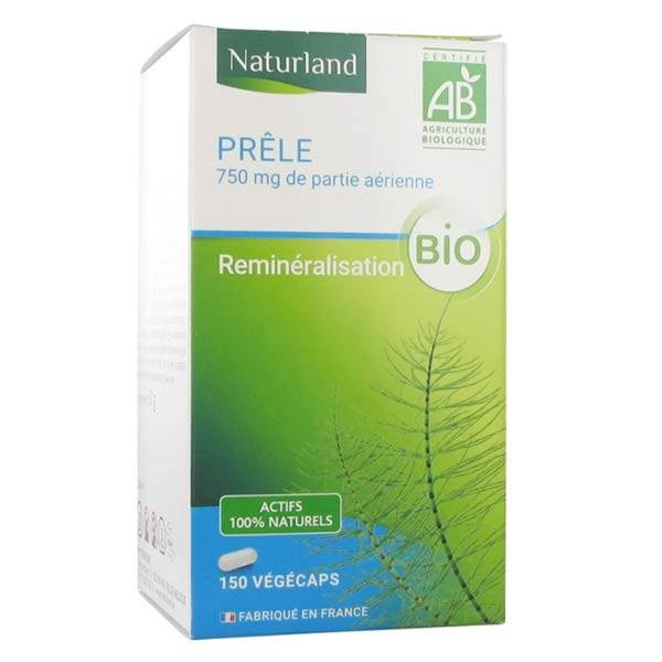 Naturland Prêle Bio 150 végécaps