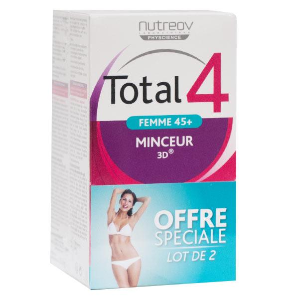 Nutreov Physcience Total 4 Femme 45+ Lot de 2 x 30 comprimés
