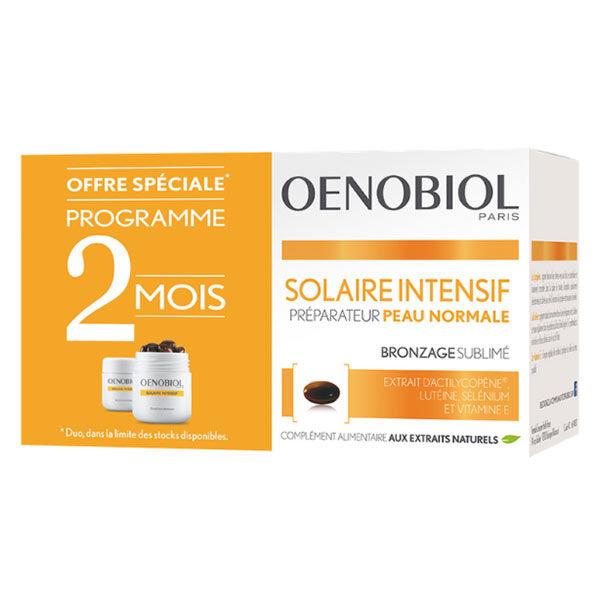Oenobiol Solaire Intensif Peaux Normales Lot de 2 x 30 capsules