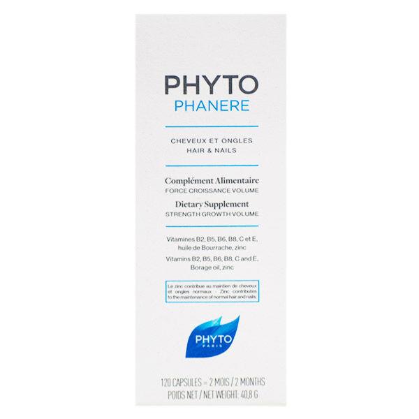 Phyts Phyt's Soins Capillaires Phanères 80 gélules végétales