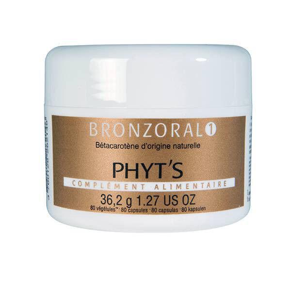 Phyts Phyt's Solaire Bronzoral 1 Avant et Pendant l'Exposition 80 végélules