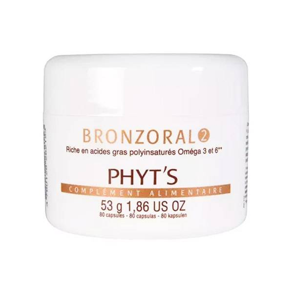 Phyts Phyt's Solaire Bronzoral 2 Après l'Exposition 80 capsules