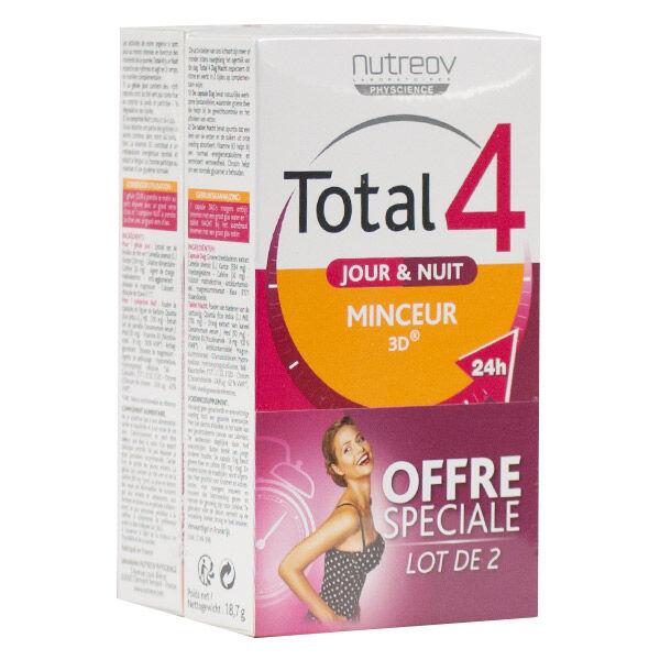 Nutreov Physcience Total 4 Jour et Nuit Lot de 2 x 30 comprimés