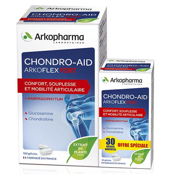 Arkopharma Chondro-Aid Arkoflex Fort 120 gélules + 30 Offertes