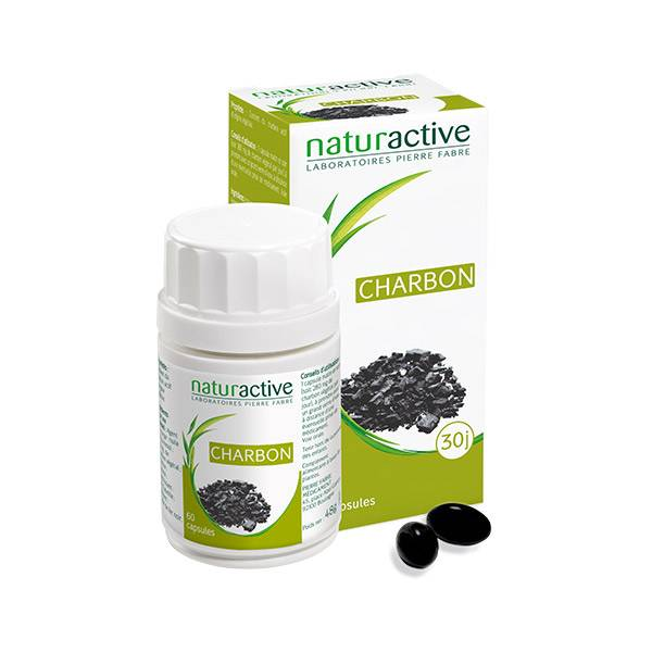 Naturactive Charbon 60 capsules