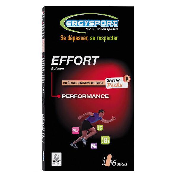 Nutergia Ergysport Effort Pêche 6 sticks