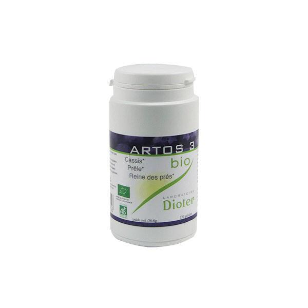 Dioter Phytothérapie Artos 3 Bio 120 gélules