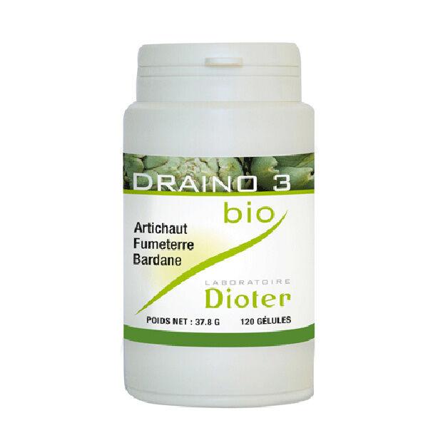 Laboratoire Dioter Dioter Draino 3 Bio 120 gélules