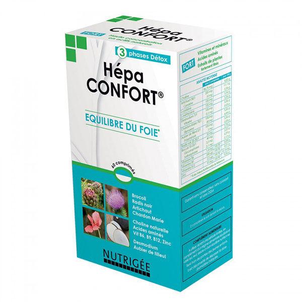 Nutrigée Hépa Confort 60 comprimés