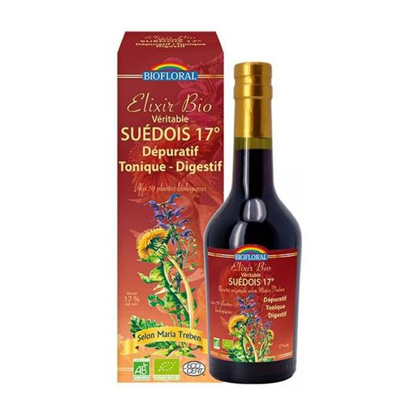 Biofloral Elixir du Suédois 17% vol. 375ml