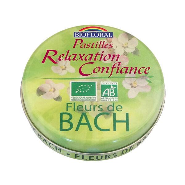 Biofloral Pastilles Relaxation Confiance Sans Alcool Format Familial 50g