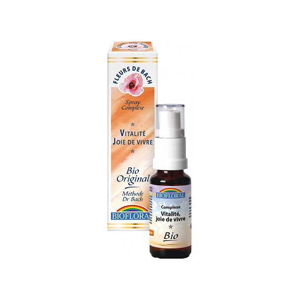 Biofloral Vitalité Joie de Vivre Spray 20ml