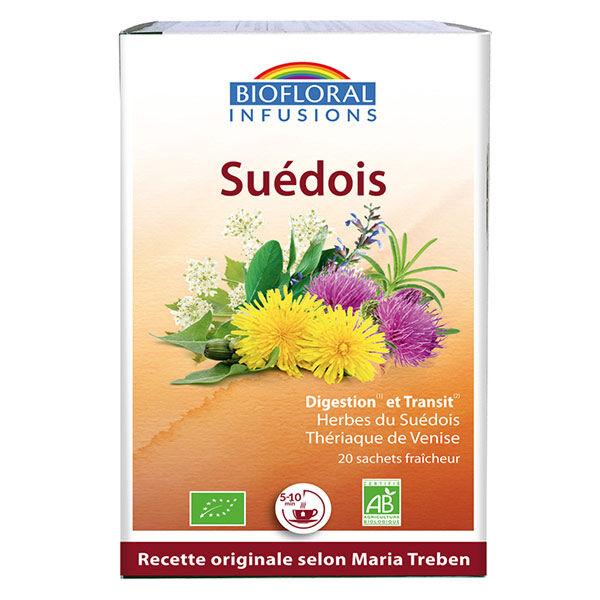 Biofloral Infusion du Suédois boite de 20 sachets