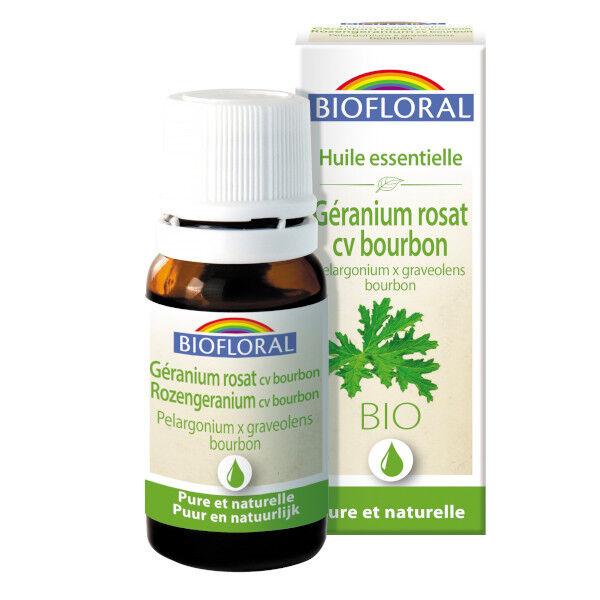 Biofloral Huile Essentielle Géranium Bio 10ml